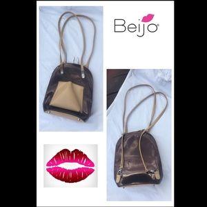 Beijo handbag purse Patent leather